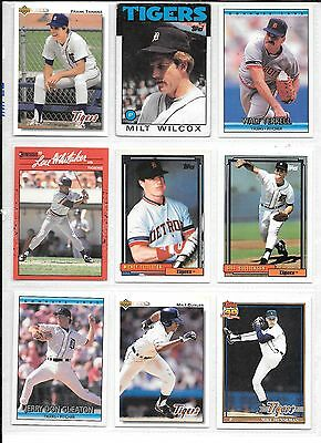 Honest Frank Tanana Plus 8 More Detroit Tigers Baseball Card Lot Quell Summer Thirst Wholesale Lots