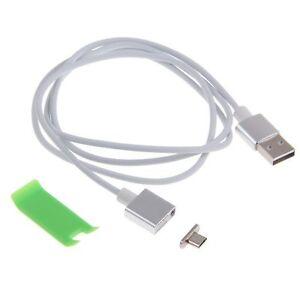 Micro-USB-Cable-De-Carga-Magnetico-Datos-Cargador-Adaptador-Para-Samsung-Huawei