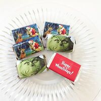 50 The Grinch Movie Mini Candy Bar Wrappers Party Favors