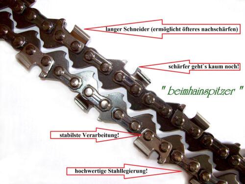 44 Treibglieder 3//8 x 1,1 Motorsäge für Kettensäge Stihl 017 Sägekette 30 cm