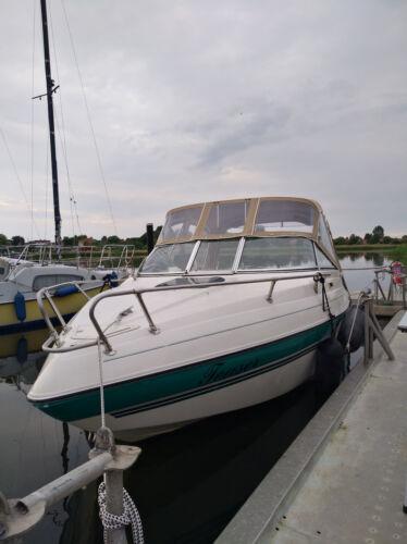 Seaswirl 201 Caddy, weiß-petrolgrün; 6,20m; gepflegt,