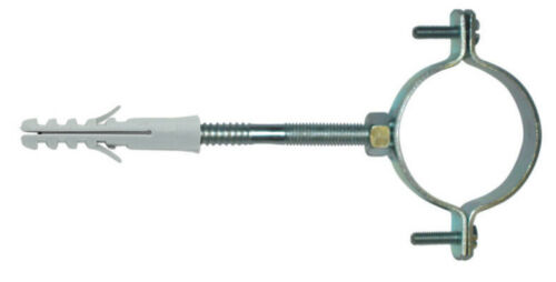 """2 pz collare Elematic E//CL 2/"""" collari per tubo gronda fermatubo grondaia"""