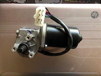 Vintage Parts 556186 SMOKEN05 White Stamped Aluminum European License Plate