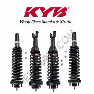 Front and Rear Complete Strut Assembly for 96-00 Honda Civic