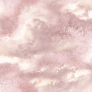 Diamant-Galaxy-Cloud-Papier-Peint-Fard-Rose-Arthouse-260006-Paillette-Neuf