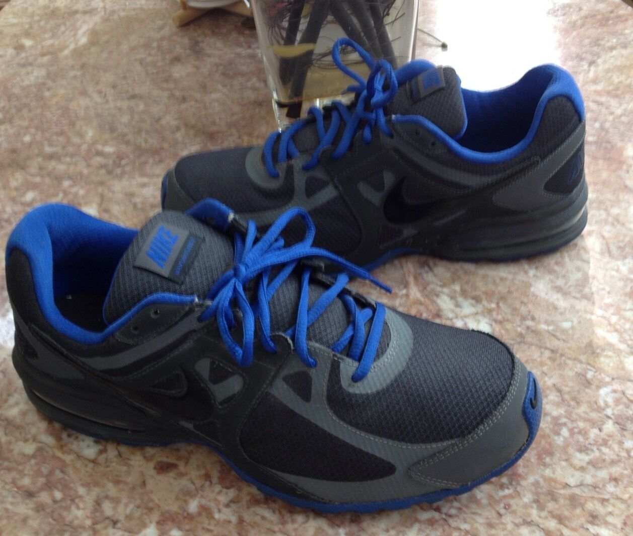 NIKE AIR MAX LIMITLESS 2 BLUE GREY ATHLETIC MEN'S SHOES SIZE 12 525759-005 EUC best-selling model of the brand