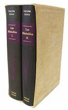 Les Miserables by Victor Hugo - Folio Society - 2 Volume Set - Slip Cover