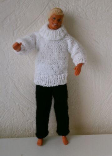Puppenkleidung 2tlg passend für Barbie,Ken Puppe nicht original Handarbeit 6205