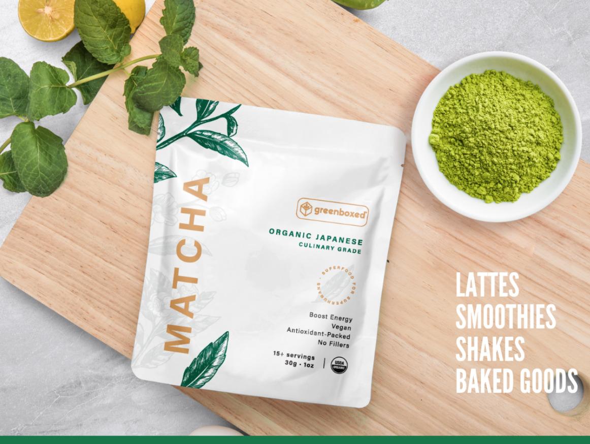 🍵100% USDA Organic Matcha Green Tea Powder PURE Japanese Culinary Grade 🍵