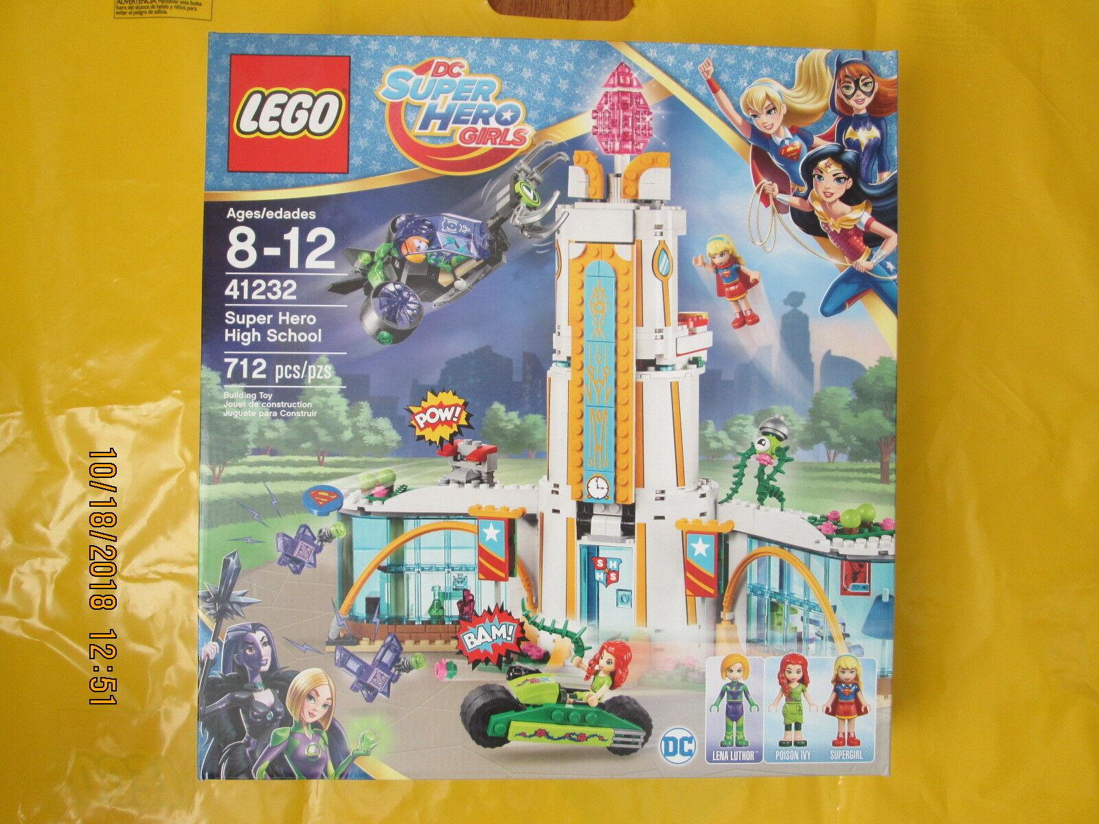 Dc Super Hero Girls 41232 Hero High School New Sealed Lego Super