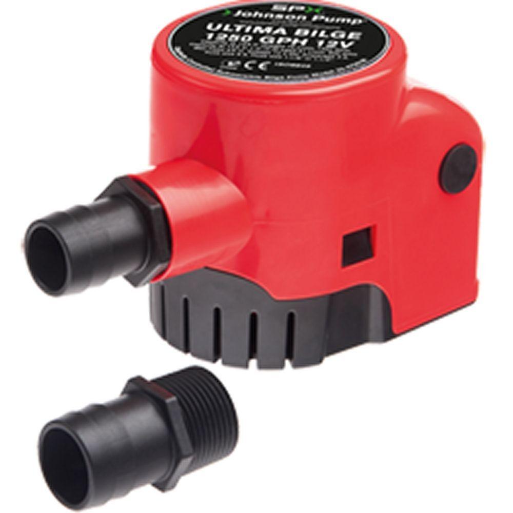 Johnson Ultima Bilge Pump 1250GPH, 12V, w Switch