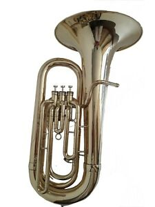 BAND-TEACHER-APPROVED-BRASS-FINISH-NEW-EB-PITCH-TUBA-M-P-FREE-HARD-CASE
