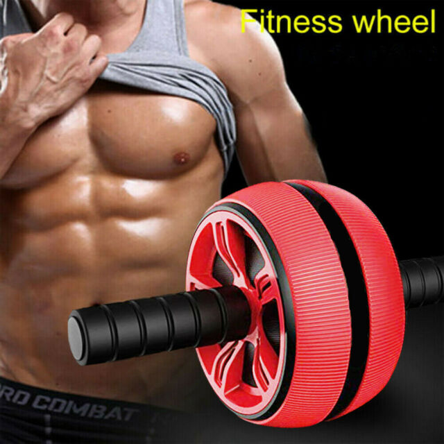 Roller/&Jump Abdominal Wheel with Mat For Equipment Accessories Body Building-u