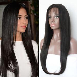 Brazilian-Human-Hair-Full-Lace-Wig-Black-Women-Glueless-Lace-Front-Wigs-Straight
