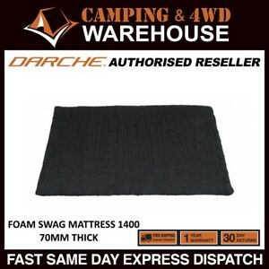 the best attitude b075e 51f88 Details about DARCHE 1400 70mm Thick High Density Foam Swag Mattress -  CAMPING MATTRESS BED