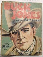 BUCK JONES and the Night Riders (1937) Whitman Big Big Book