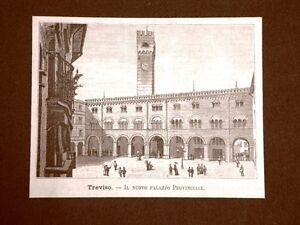 Incisione-del-1891-Treviso-Il-nuovo-palazzo-Provinciale-Veneto