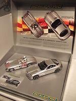 Scalextric C2783A Mercedes Benz SLR Mille Miglia Slot Car Set, Lights, Magna etc