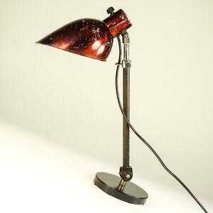 Hala Tisch Leuchte Art Deco Teleskop Architekten Arbeits Lampe Vintage Bauhaus