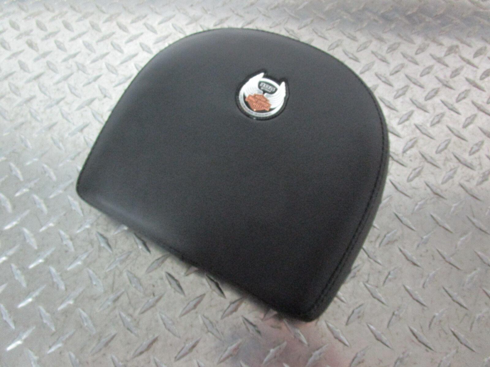2008 Harley Davidson Flstn Softail Deluxe 105th Anniversary Backrest Pad Ebay