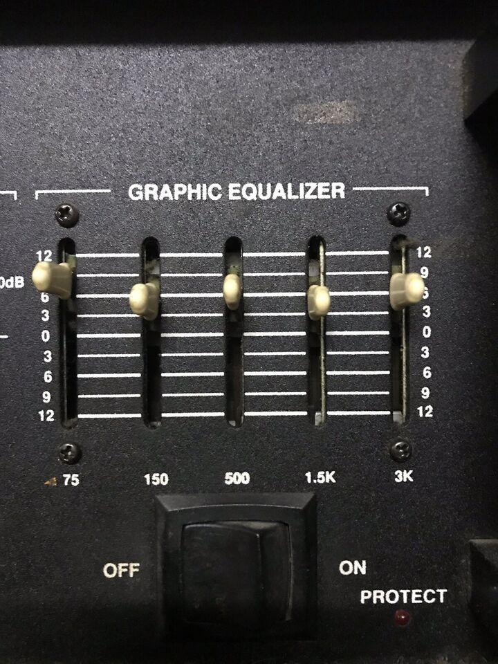 Basamplifier, Carvin Pro bass 300, 300 W