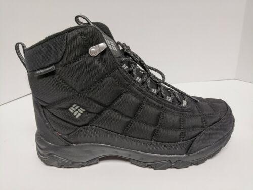Columbia Firecamp Hiking Boots, Black, Men's 10 M