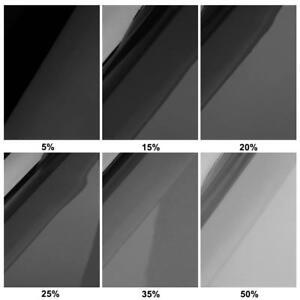 1mx50cm-VLT-Car-Home-Glass-Window-Tint-Tinting-Film-Roll-with-Scraper-Black