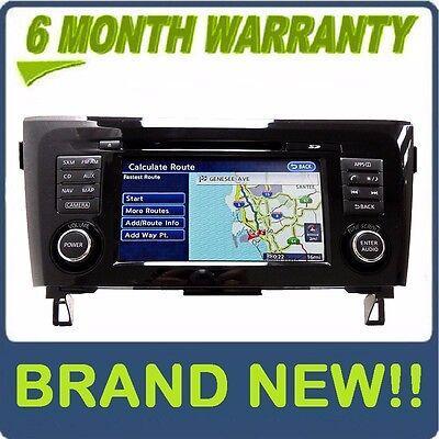 2012-2015 NISSAN ROGUE Single CD MP3 Stereo Radio Navigation GPS Screen