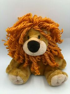 Aurora-World-Jazzy-Lion-Plush-Soft-Stuffed-Toy-Animal-Orange-Hair-Teddy-Bear