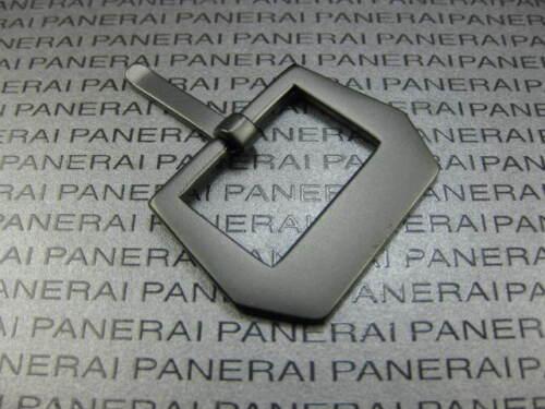 Nouveau 24 mm Plat Sew in Swiss 316 L acier inoxydable PVD Boucle faites pour PANERAI 24 mm X1
