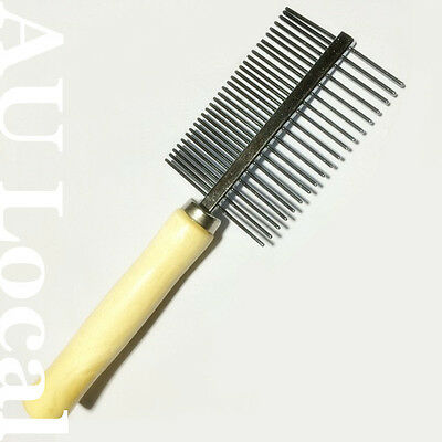 Pet Brush Animal Cat Dog Fur Hair Grooming Trimmer Comb Steel PBRUS0501