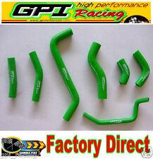 KAWASAKI KXF450 KX 450F KX450F 2009-2014 2010 2011 2012 14 silicone hose GREEN