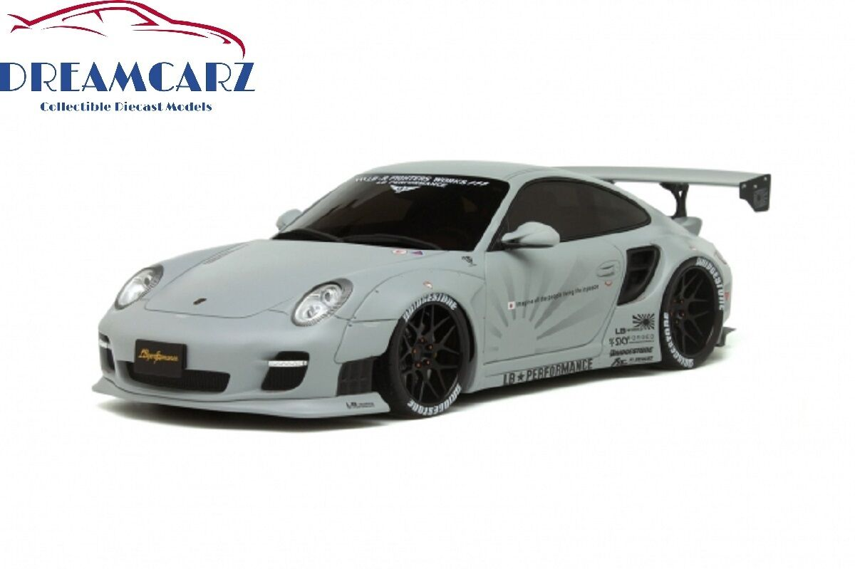 GT anda GT126 1  18 Porsche 911 (997) LB Performance Liberty promänad, Ltd 2500 pcs