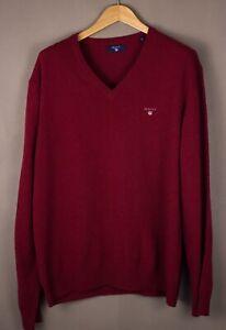 GANT-Men-Wool-Polyamide-Casual-Knit-Jumper-Sweater-Size-XL-ATZ961
