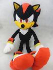 """New Sega Sonic The Hedgehog Shadow 18"""" Plush Doll Black Stuffed Toy"""