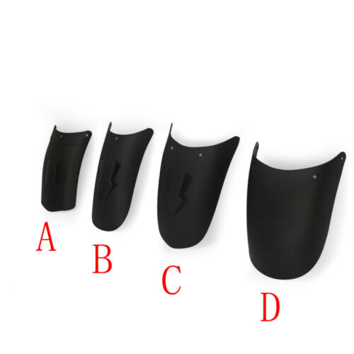 Motorcycle Front Rear Fender Extender Mudguard Extension Anti-splash Wheel Cover