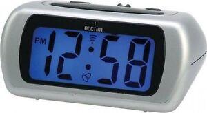 Reloj-Despertador-Acctim-Auric-12340-Bateria-Digital-Con-Retroiluminacion-Azul-LCD-y-repeticion-de