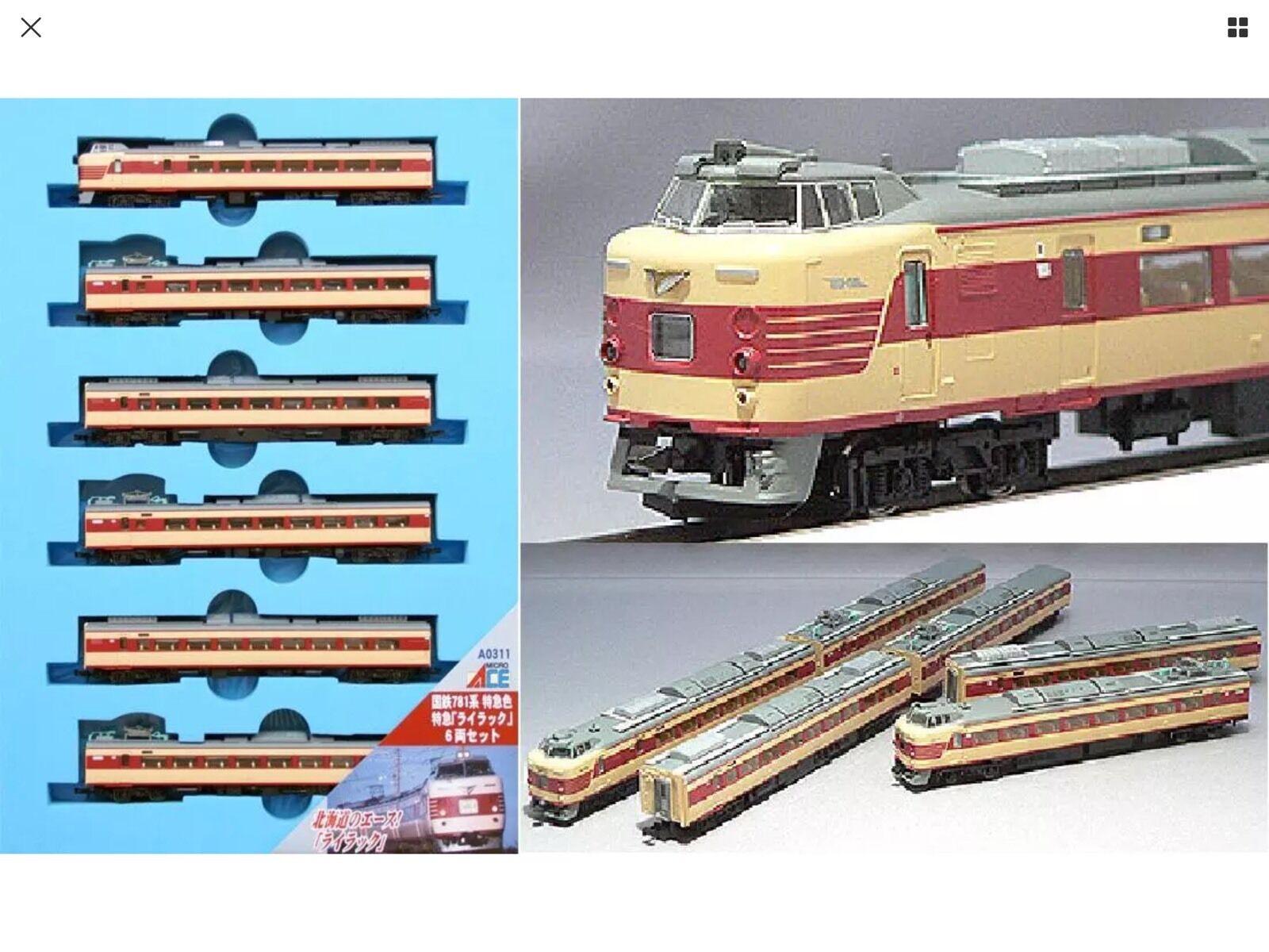 マイクロエースJNR 781シリーズ6車エミューセット