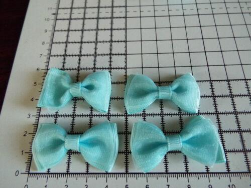 Apliques cotton//organza Arco Adornos perfecto Boda 5 Cm 4 X Grande