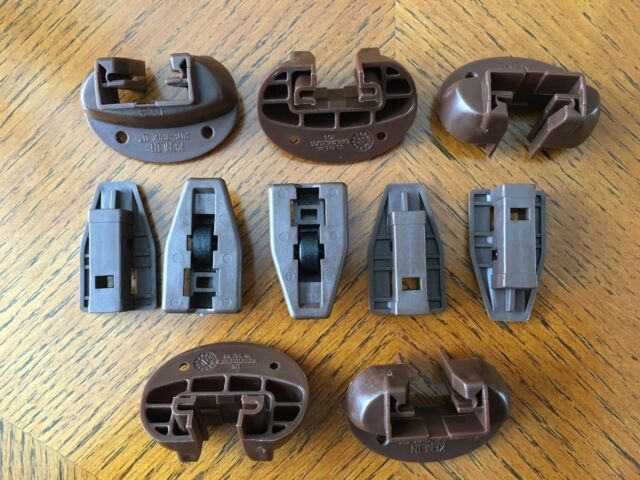 5X  Kenlin RITE-TRAK II replacement drawer guide//glide with metal backs