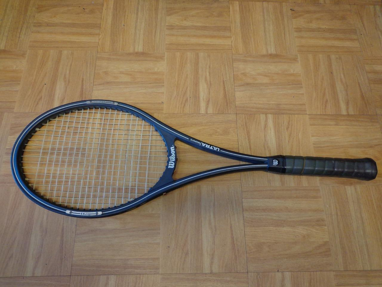 Wilson Original Ultra 75 head head head 4 1/4 grip Tennis Racquet ef83e1