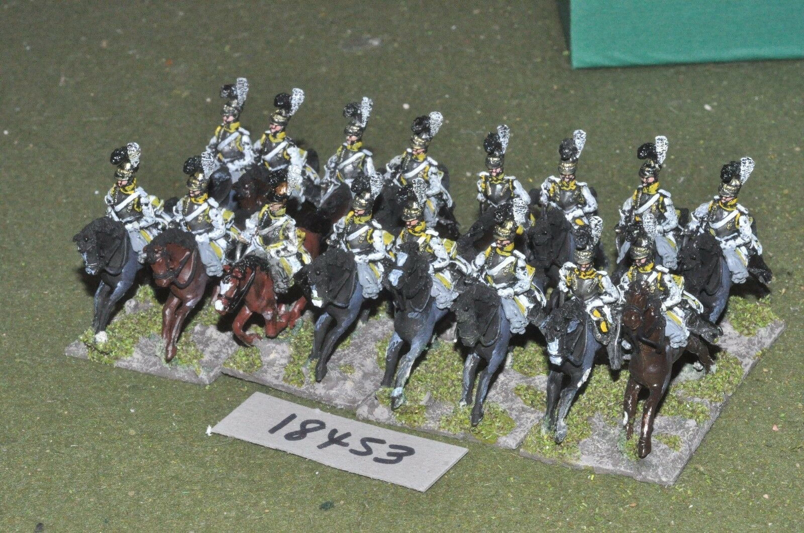 25mm napoleonic   saxon - cavalry 16 cavalry - cav (18453)