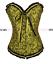 Overbust-Corset-Top-Basque-Sexy-Steel-Boned-Bustier-Fancy-Dress-Waist-Trainer-UK thumbnail 67