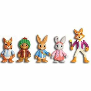 Peter-Figure-amp-Rabbit-Adventure-Set-Friends-con-le-braccia-da-Nick-Jr-Bambini-Giocattoli