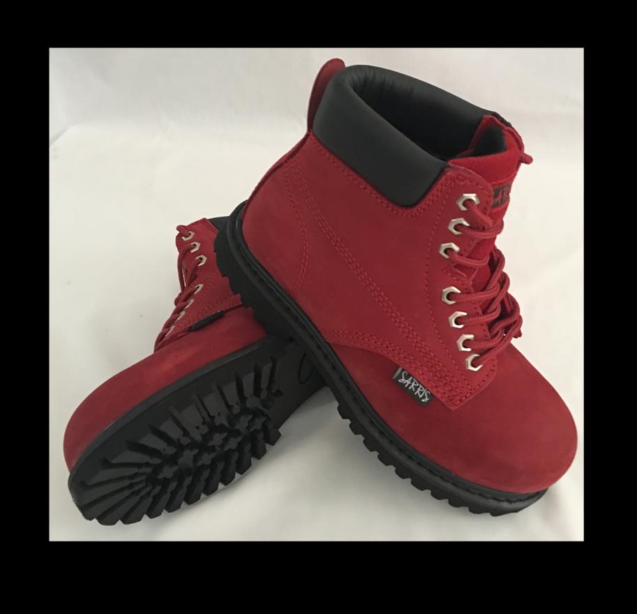 edizione limitata Ladies Safety Work stivali Steel Toe Cap - Many Dimensiones Dimensiones Dimensiones - Red  negozio online