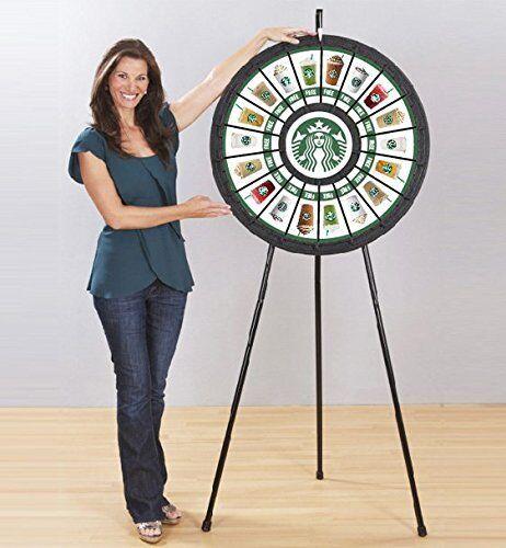 Floor Stand Prize Wheel 18 Slots (31 Inch Diameter)