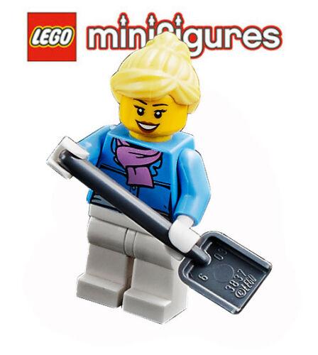 LEGO® Minifig City Mutti beim Schnee schieben aus dem Set 60201