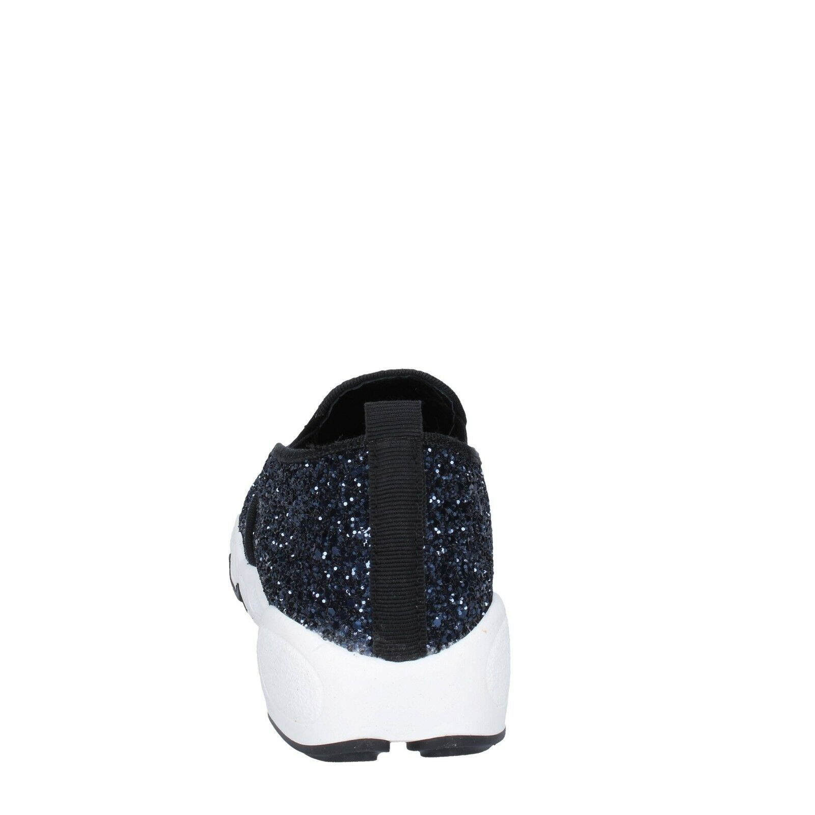 Scarpe 3 Donna Olga RUBINI 3 Scarpe (EU 36) Mocassini Da Infilare Blu Glitter BX790-36 513c25
