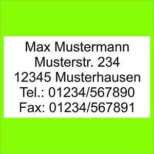 1300-Adressetiketten-Adressaufkleber-m-ihrem-Text-bedruckt-Etiketten-Aufkleber