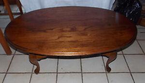 Oval Oak Coffee Table By Kincaid Ct220 Ebay